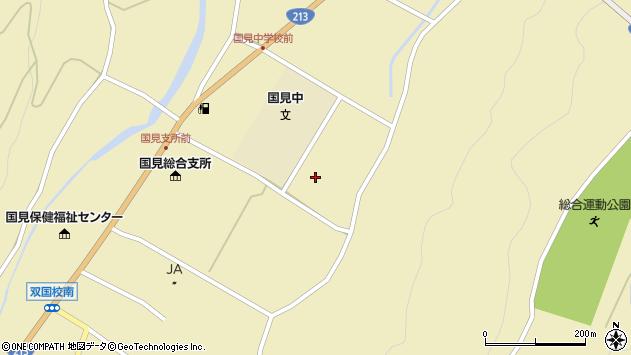 大分県国東市国見町伊美2861周辺の地図