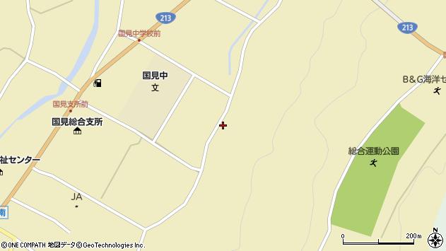 大分県国東市国見町伊美3297周辺の地図