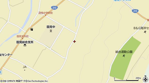大分県国東市国見町伊美3303周辺の地図
