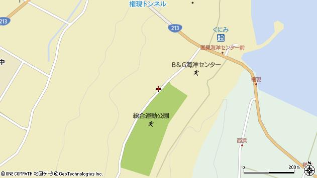 大分県国東市国見町伊美4048周辺の地図