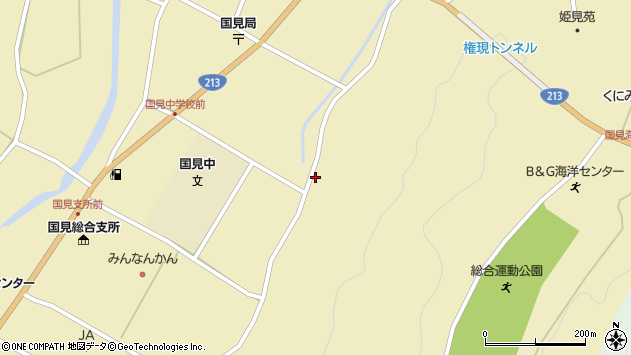 大分県国東市国見町伊美3311周辺の地図