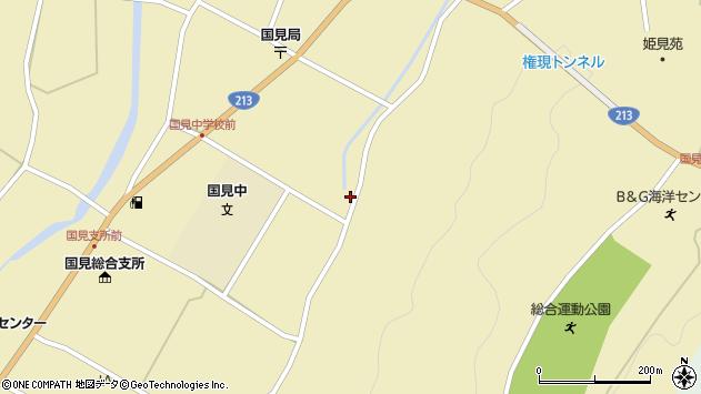 大分県国東市国見町伊美3309周辺の地図