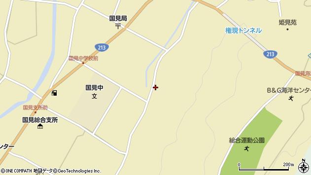 大分県国東市国見町伊美3312周辺の地図