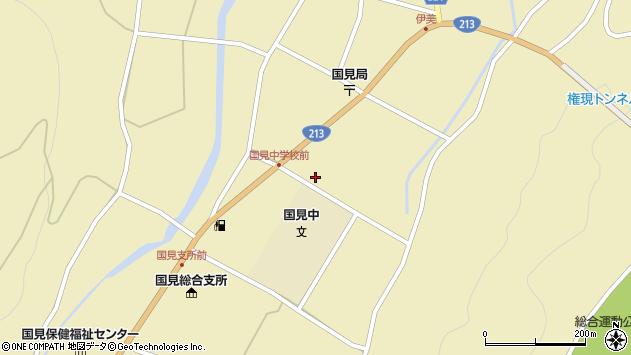 大分県国東市国見町伊美2829周辺の地図