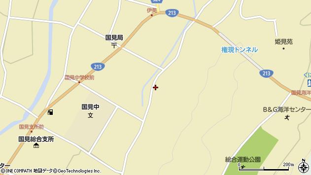 大分県国東市国見町伊美3419周辺の地図