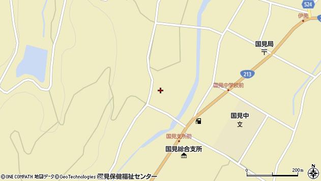 大分県国東市国見町伊美2166周辺の地図