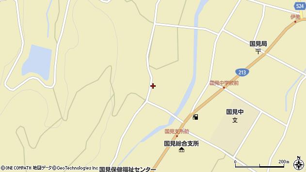 大分県国東市国見町伊美2168周辺の地図