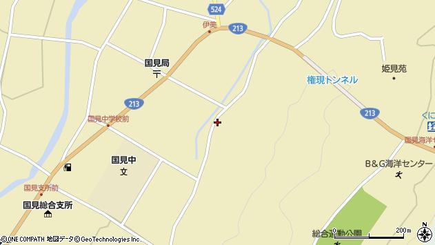 大分県国東市国見町伊美3423周辺の地図