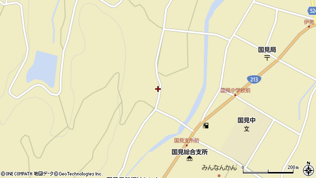 大分県国東市国見町伊美1599周辺の地図