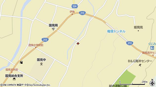 大分県国東市国見町伊美3428周辺の地図