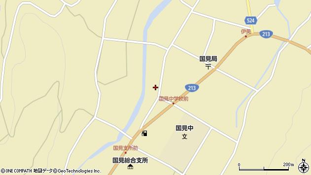 大分県国東市国見町伊美2340周辺の地図