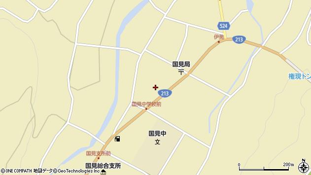 大分県国東市国見町伊美2368周辺の地図