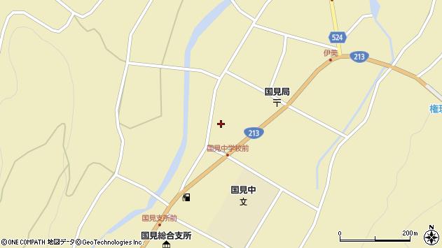 大分県国東市国見町伊美2358周辺の地図