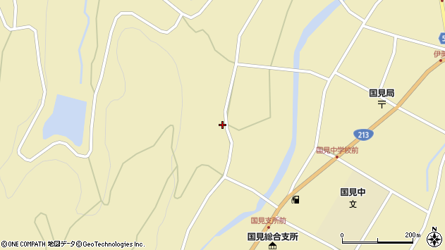 大分県国東市国見町伊美1646周辺の地図