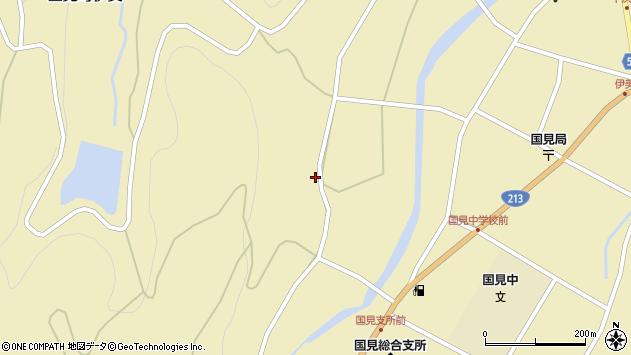 大分県国東市国見町伊美1653周辺の地図