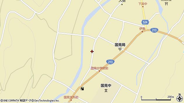 大分県国東市国見町伊美2387周辺の地図