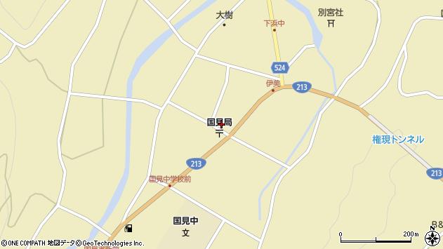 大分県国東市国見町伊美2449周辺の地図