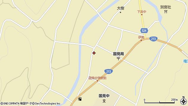 大分県国東市国見町伊美2411周辺の地図