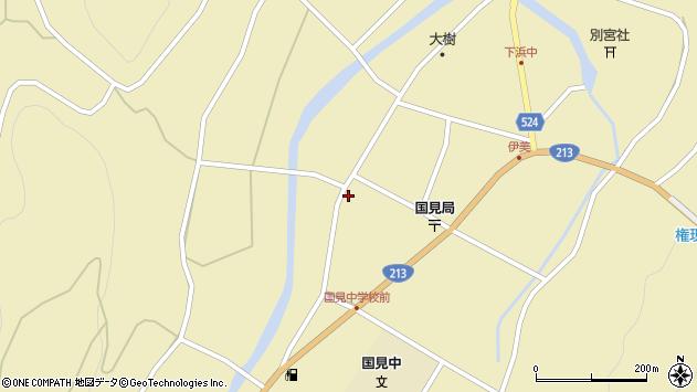 大分県国東市国見町伊美2412周辺の地図