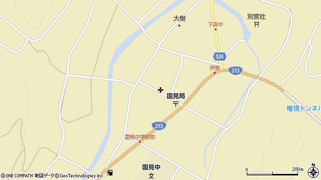 大分県国東市国見町伊美2485周辺の地図