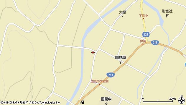 大分県国東市国見町伊美2402周辺の地図