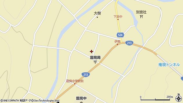 大分県国東市国見町伊美2483周辺の地図