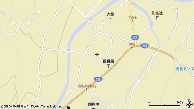 大分県国東市国見町伊美2486周辺の地図