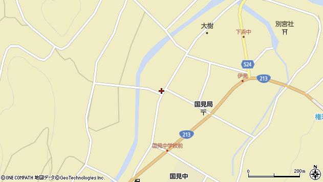 大分県国東市国見町伊美2501周辺の地図