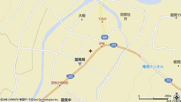 大分県国東市国見町伊美2460周辺の地図