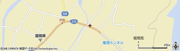 大分県国東市国見町伊美3528周辺の地図