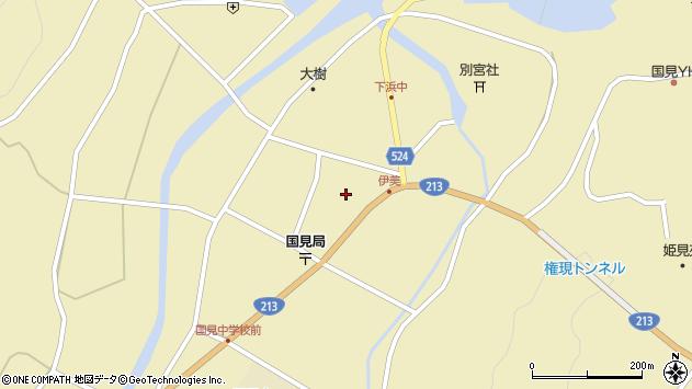 大分県国東市国見町伊美2462周辺の地図