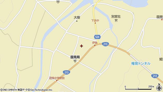 大分県国東市国見町伊美247周辺の地図