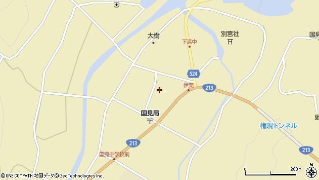 大分県国東市国見町伊美2475周辺の地図