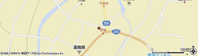 大分県国東市国見町伊美2683周辺の地図