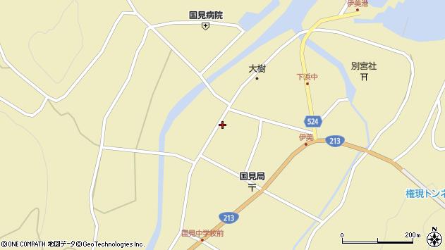 大分県国東市国見町伊美2544周辺の地図