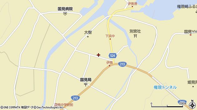 大分県国東市国見町伊美2680周辺の地図