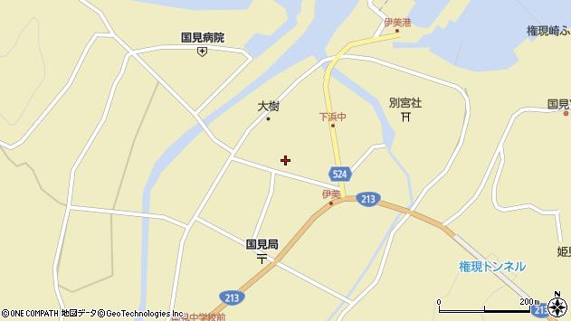 大分県国東市国見町伊美2675周辺の地図