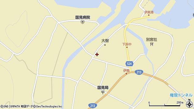 大分県国東市国見町伊美2599周辺の地図