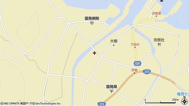 大分県国東市国見町伊美2539周辺の地図