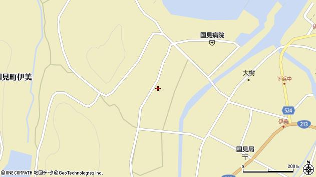 大分県国東市国見町伊美2052周辺の地図