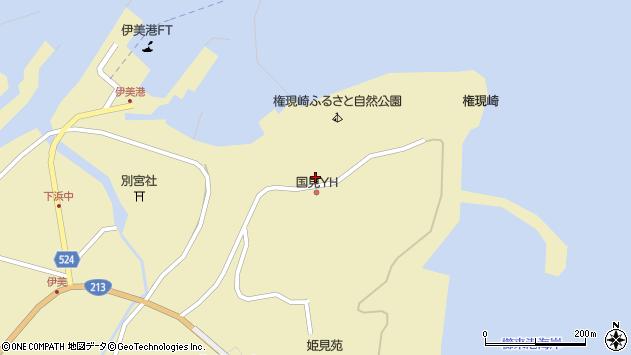 大分県国東市国見町伊美3657周辺の地図
