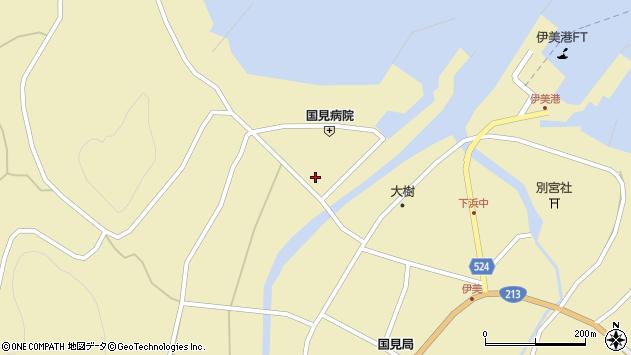 大分県国東市国見町伊美1958周辺の地図