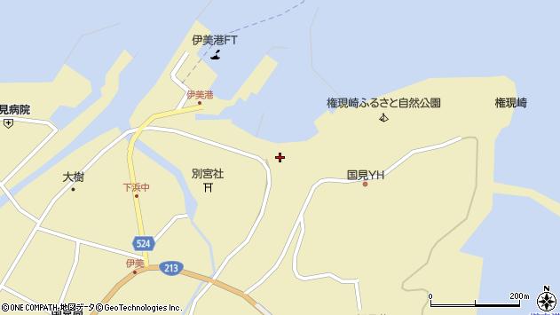 大分県国東市国見町伊美3601周辺の地図