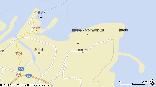 大分県国東市国見町伊美3650周辺の地図