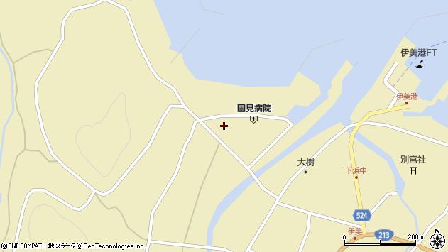 大分県国東市国見町伊美1948周辺の地図