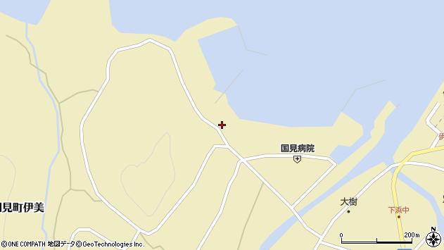 大分県国東市国見町伊美1887周辺の地図
