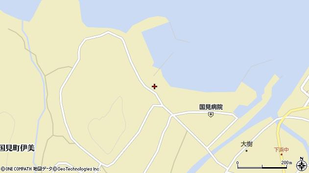 大分県国東市国見町伊美1303周辺の地図