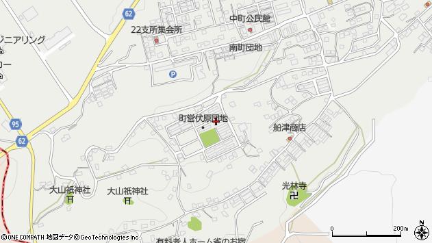 福岡県田川郡福智町赤池周辺の地図