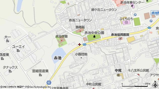 福岡県田川郡福智町赤池小藤周辺の地図