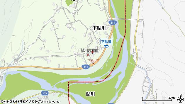 和歌山県西牟婁郡上富田町下鮎川周辺の地図